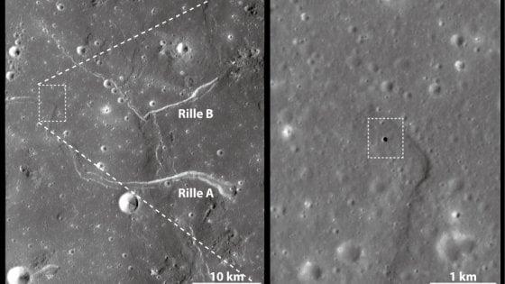 Scoperta enorme grotta lunare, può contenere un'intera città