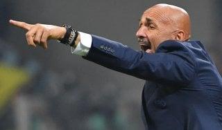 """Inter, Spalletti: """"Ad armi pari con il Napoli. Io fortunato? Non avete ancora visto...''"""