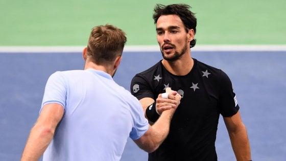 Tennis, Fognini in semifinale a Stoccolma. Mosca, Seppi si ferma ai quarti