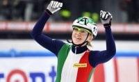 Sarà Arianna Fontana la portabandiera dell'Italia