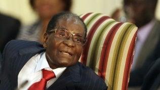 Il presidente dello Zimbabwe, Robert Mugabe