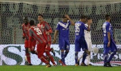 Derby lombardo alla Cremonese  Il Brescia non decolla: 2-0