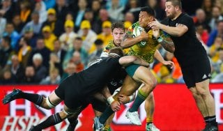 Rugby, la rivincita dell'Australia: battuti gli All Blacks