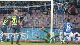 Napoli-Inter finisce 0-0:in testa non cambia nulla