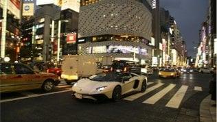 Lamborghini show, in Giappone la festa infinita è da record · foto