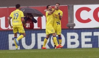 Chievo-Hellas Verona 3-2, Pellissier decide il derby