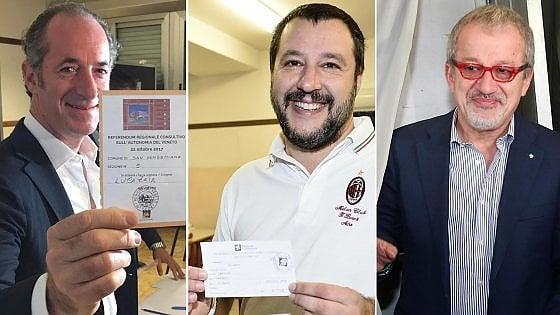 Referendum: Fiasconaro (M5S), al voto percentuale considerevole di lombardi