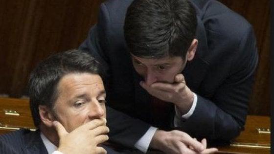 """Svolta Mdp, Renzi: """"Dialogo, ok se apertura è seria. Ma Rosatellum non cambia"""". Orlando: """"Subito il confronto"""""""