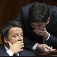 """Svolta Mdp, Renzi: """"Dialogo, ok se apertura è seria. Ma Rosatellum non cambia"""". Orlando:..."""