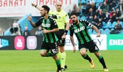 Spal-Sassuolo 0-1: Politano decide il derby, Bucchi può respirare
