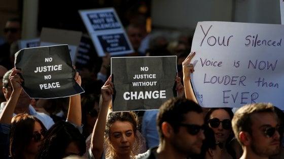 Malta, omicidio Caruana Galizia: migliaia di persone in piazza