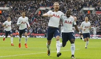 Inghilterra, solito Kane show: Tottenham travolge il Liverpool
