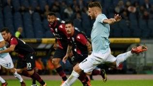 Lazio batte Cagliari· Juve vola pure in 10:Udinese travolta 2-6