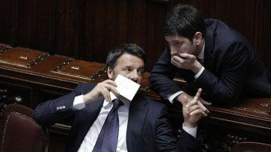 """Renzi a Speranza: """"Ok dialogo se apertura è seria ma Rosatellum ora non può cambiare"""""""