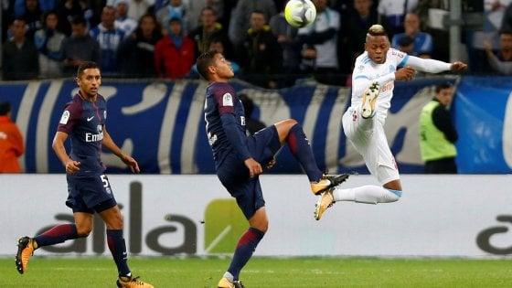 Francia, Cavani salva il Psg al 93: a Marsiglia finisce 2-2