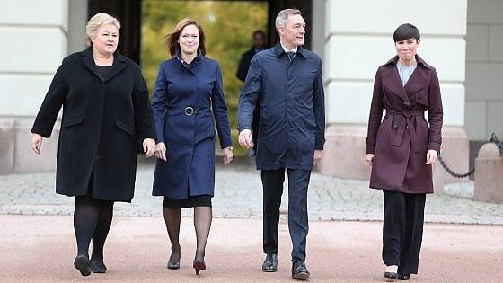 Norvegia, quattro donne ai vertici del governo