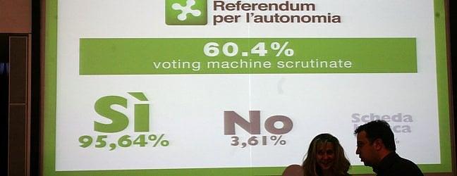 """Maroni: """"Gentiloni disposto a discutere""""· Lombardia, il flop del voto elettronico"""