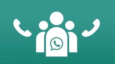 WhatsApp, arrivano le chiamate di gruppo