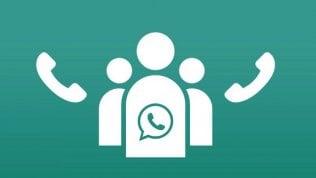 WhatsApp, arrivano le chiamate di gruppo. Ma per le videocall bisognerà aspettare ancora un po'
