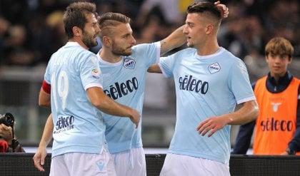 Lazio-Cagliari 3-0: rullo biancoceleste, Immobile avvicina il Napoli e l'Inter