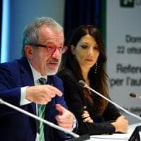 """Referendum autonomia, Maroni: """"Da Gentiloni via libera al confronto"""""""