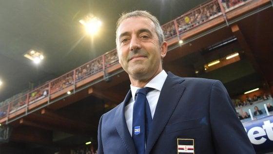Sampdoria, Giampaolo: ''Inter da scudetto, qualcosa ci inventeremo''