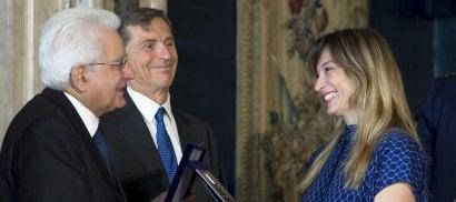 Tumori, Mattarella premia Margherita Granbassi