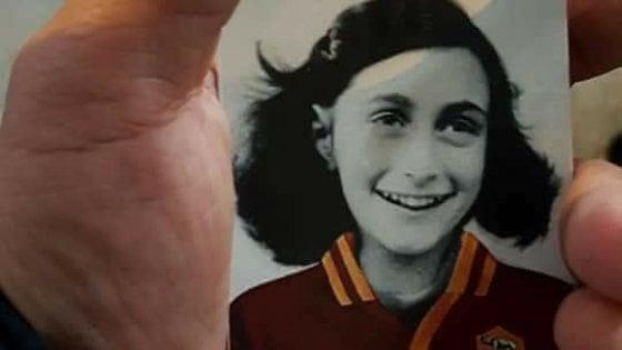 Anna Frank per insultare i romanisti, vergogna degli ultrà della Lazio