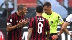 Due turni di squalifica per Bonucci: salta Chievo e  Juventus