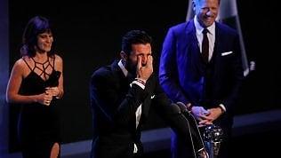 Fifa Awards, le lacrime di Buffon:miglior portiere del 2017 · foto