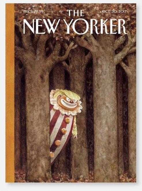 Trump come IT il clown: la copertina del mensile The New Yorker