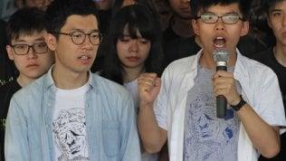 Hong Kong, torna libero il leader della Rivoluzione degli ombrelli