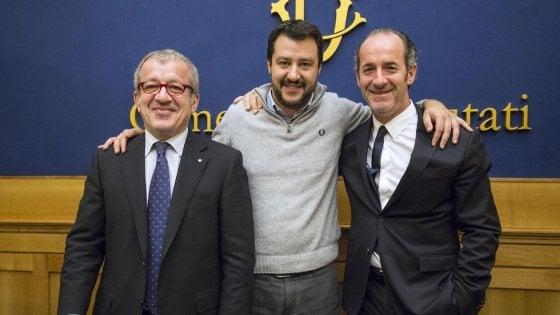 Lega e Liga, quarant'anni di derby. I due volti dell'autonomismo lombardo-veneto