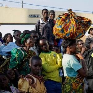Congo, peggiora la condizione degli sfollati che aumentano di giorno in giorno