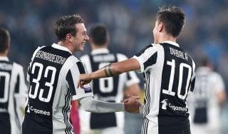 Le pagelle di Juventus-Spal: ottimo Bernardeschi, Barzagli un pilastro. Paloschi spina nel fianco