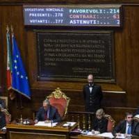 Il Rosatellum bis è legge dello Stato: via libera definitivo al Senato con 214 sì