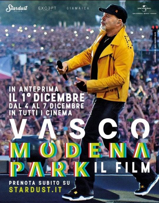 'Vasco Modena Park - Il film': a dicembre in sala il live dei record