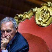 Senato, il presidente Pietro Grasso lascia gruppo Pd. Zanda: