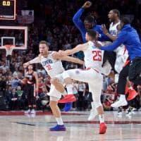 Basket Nba, Gallinari fa belli i Clippers, Belinelli non basta ad Atlanta