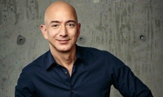 Jeff Bezos, fondatore e ceo di Amazon