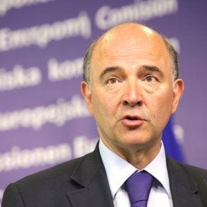 Il commissario Pierre Moscovici