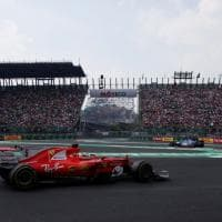 F1, Gp Messico: contatto Vettel-Hamilton, la sequenza dell'incidente