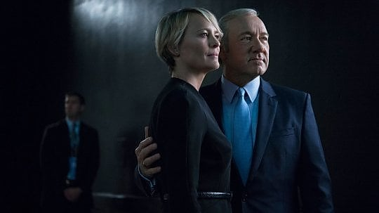 House of Cards, stop a riprese in corso — Netflix