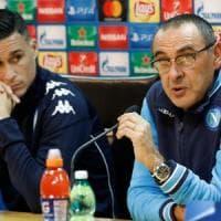 Napoli, Sarri: ''Con il City serve qualcosa di straordinario. Guardiola il migliore al mondo''