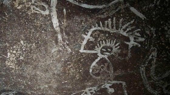 """Caraibi, scoperte antiche pitture precolombiane. """"Realizzate sotto l'effetto di sostanze psichedeliche"""""""
