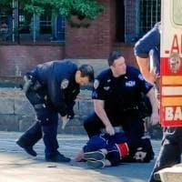 New York, veicolo piomba su pista ciclabile: l'arresto dell'attentatore