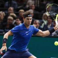 Tennis, Parigi-Bercy: Nadal batte Chung, chiuderà l'anno al numero 1