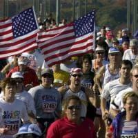 A New York la maratona contro la paura: