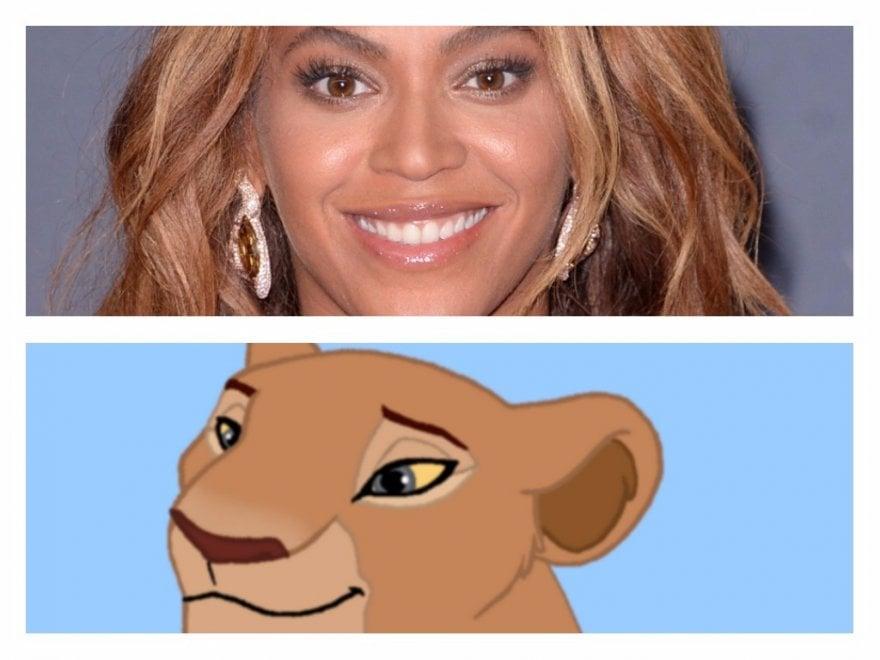 Beyoncé sarà Nala, l'amica di Simba nel live action de 'Il re leone'