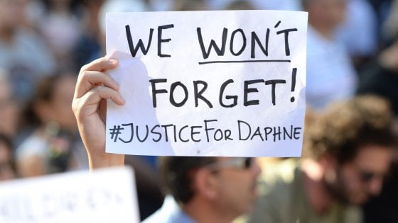 "Eight editors-in-chief ask EU Commission ""a full investigation"" on Malta's media and Daphne Galizia's murder"